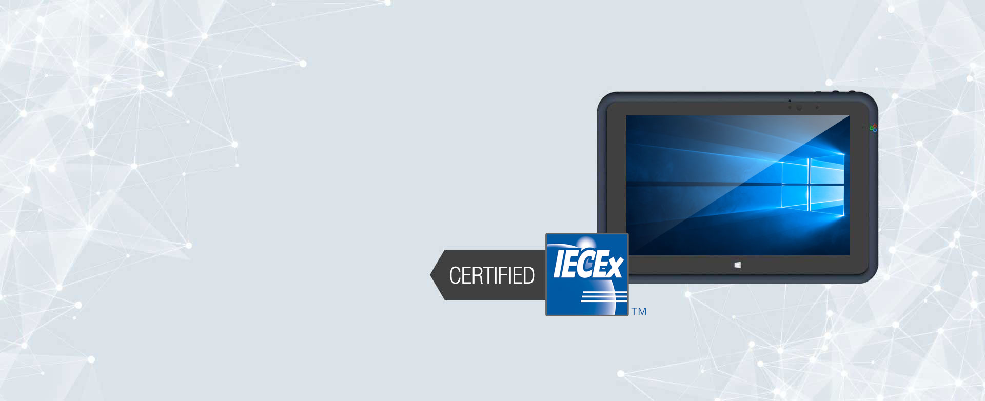Aegex Intrinsically Safe Tablet