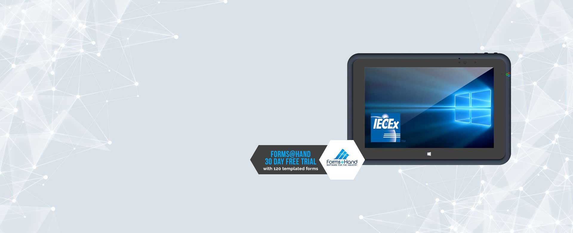 Aegex Intrinsically Safe Tablet